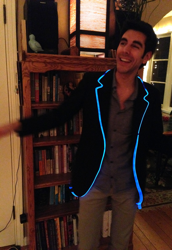 Adventures in Wearable Electronics - Making a Light-up Dress ...